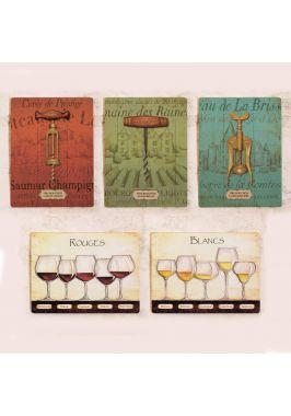 Набор табличек для декора винотеки, бара или ресторана