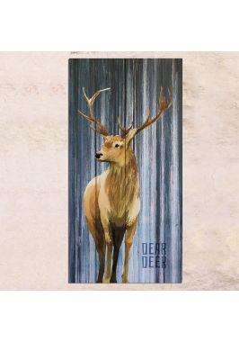 Панно на дереве Dear Deer