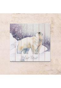 Polar Bear 63х63см