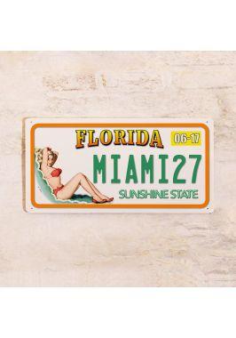 Номер на автомобиль Флорида