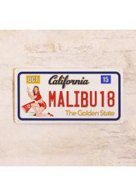 Номер Калифорния Малибу Пин-ап