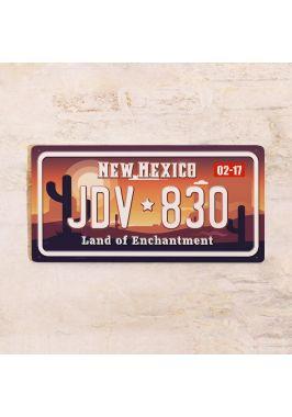 Сувенирный номер на авто Нью-Мексико