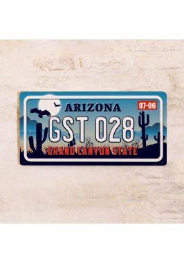 Номер на автомобиль Аризона