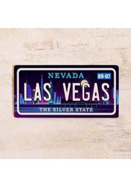 Сувенирный номер на авто Лас-Вегас