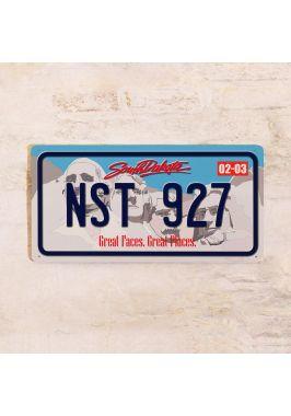 Номер на автомобиль Южная Дакота
