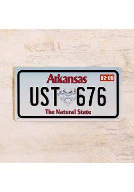 Сувенирный номер на авто Арканзас