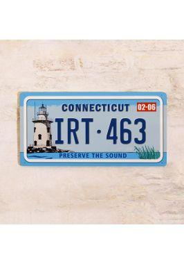 Сувенирный номер на авто Коннектикут