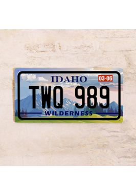 Номер на автомобиль Айдахо