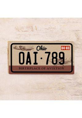 Номер на автомобиль Огайо