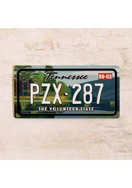 Сувенирный номер на авто Теннесси