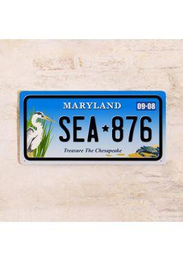 Сувенирный номер на авто Мэриленд