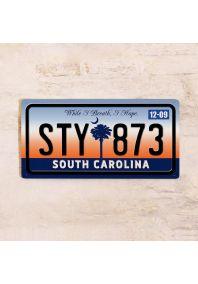 Номер Южная Каролина