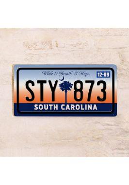 Номер на автомобиль Южная Каролина
