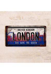 Автономер London / Лондон