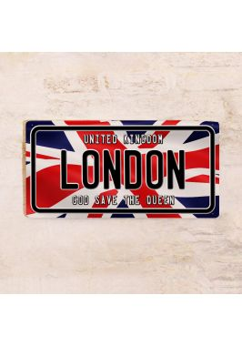 Номер на автомобиль London / Лондон
