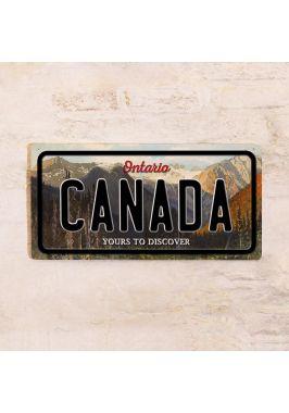 Номер на автомобиль Ontario Canada