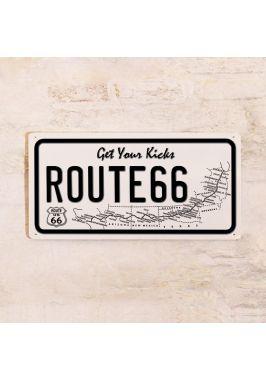 Номер на автомобиль Route 66