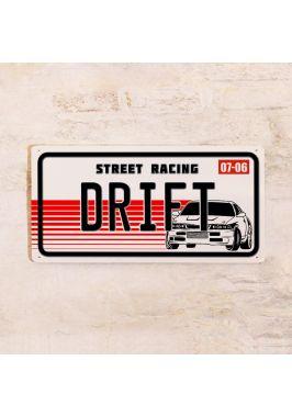 Номер на автомобиль DRIFT