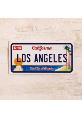 Номер на автомобиль Los Angeles