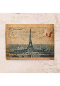 Винтажная табличка Париж