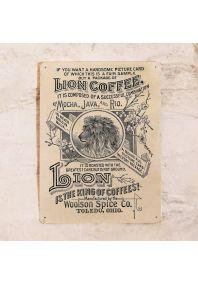 Жестяная табличка  Постер