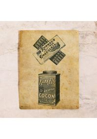 Жестяная табличка шоколад