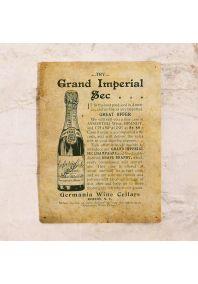 Жестяная табличка Шампанское