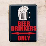 Beer drinkers only