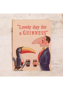 Табличка для бара Guinness