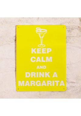 Жестяная табличка Margarita