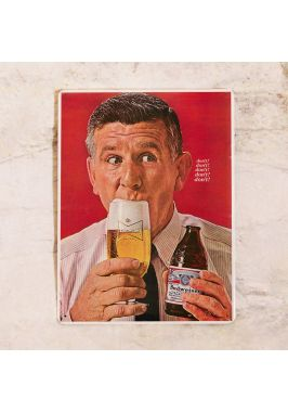 Легендарная табличка Ретро пиво