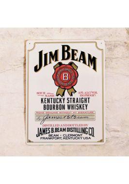 Табличка для бара Jim Beam