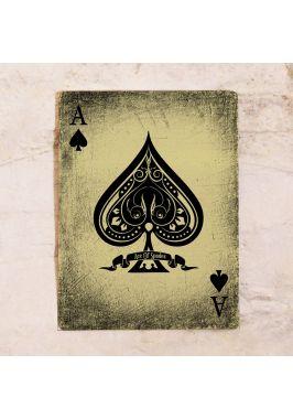 Жестяная табличка Ace