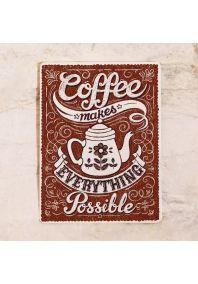 Кофейная табличка