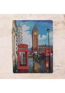 Жестяная табличка London