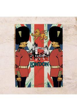 Жестяная табличка Лондон