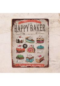 Happy baker