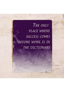 Офисная табличка Success