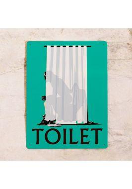 Табличка мужской туалет Vader