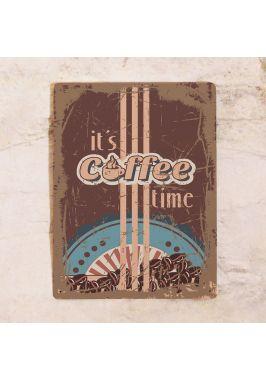 Табличка для дома Coffee time