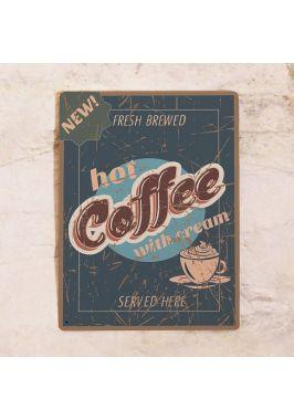 Табличка для кондитерской Hot coffee