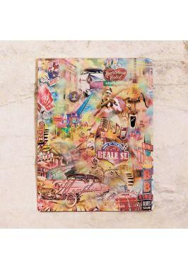 Жестяная табличка Elvis collage