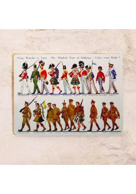 Металлическая табличка Waterloo