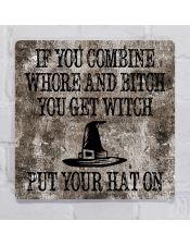 Прикольная картина Ведьма