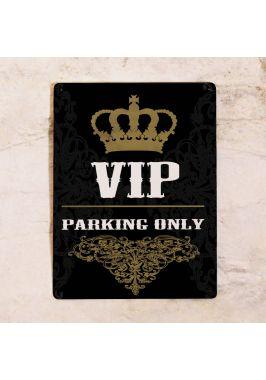 Парковочная табличка VIP Parking