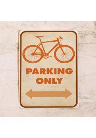 Парковочная табличка для гоночного велосипеда