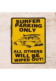 Surfer parking