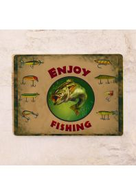 Enjoy fishing