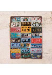 Магнитная доска USA plates