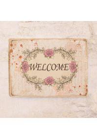 Декоративная табличка Welcome
